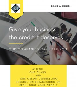 Workshop - Credit Building for Entrepreneurs @ Small Business Assistance Corporation | Savannah | Georgia | United States