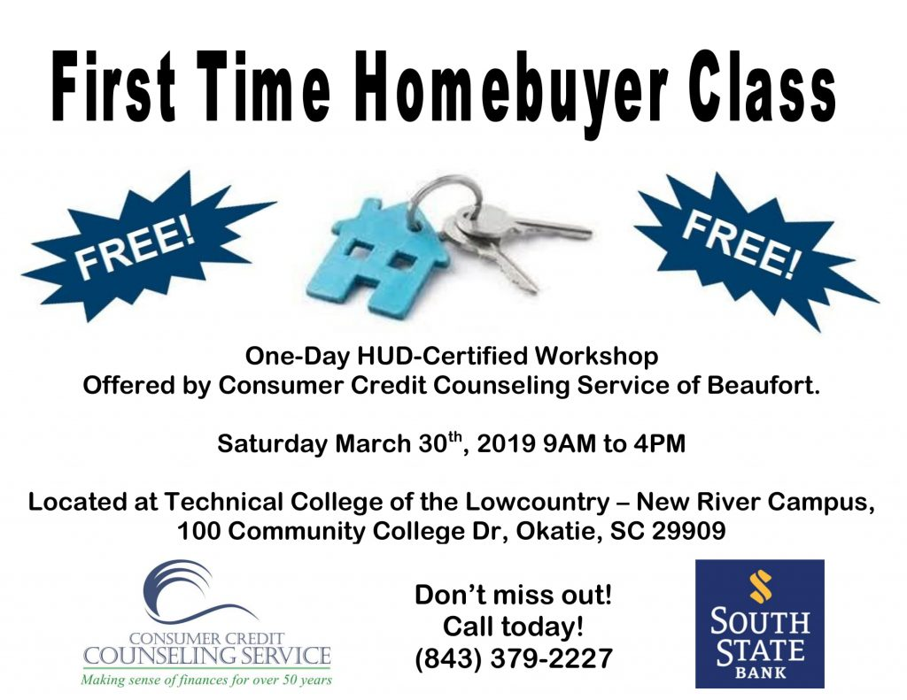 First-time Homebuyer Class @ Technical College of the Lowcountry - New River Campus
