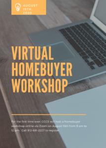 Virtual Homebuyer Workshop