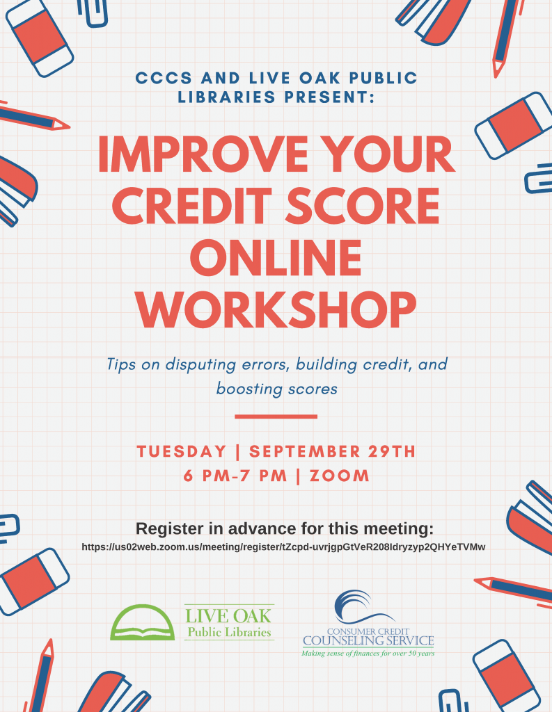 Don't Miss Out on the Upcoming Credit Workshop