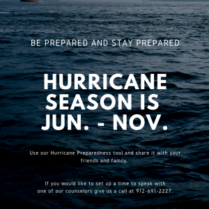Hurricane Season goes until when?