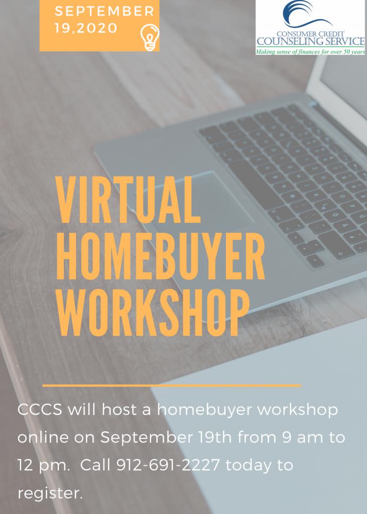 Sign-up for the September Homebuyer Workshop