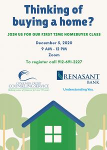 December Homebuyer Workshop